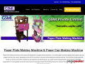 Paper Plate Making Machine|Gsmi Machine